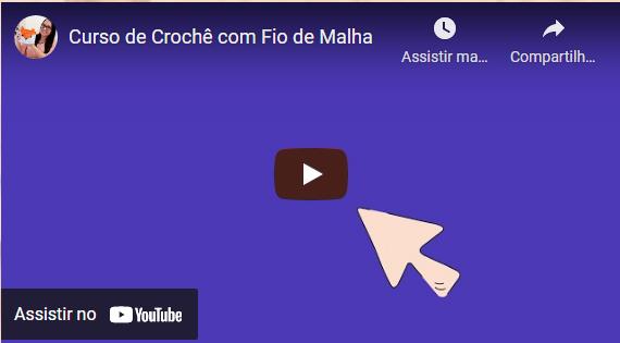 Curso de Crochê com Fio de Malha