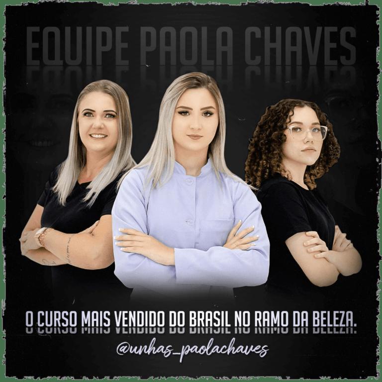 Curso Banho de Gel e Blindagem Paola Chaves